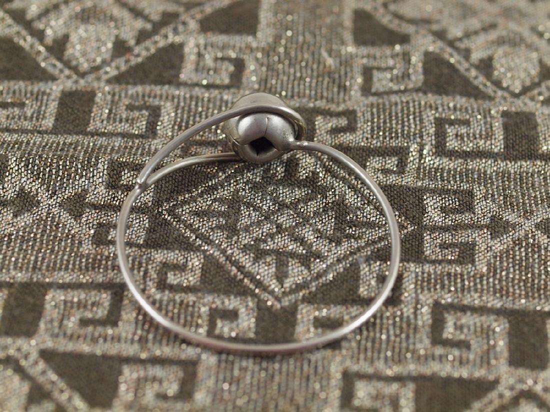Rigid Vintage Silver Bracelet - 2