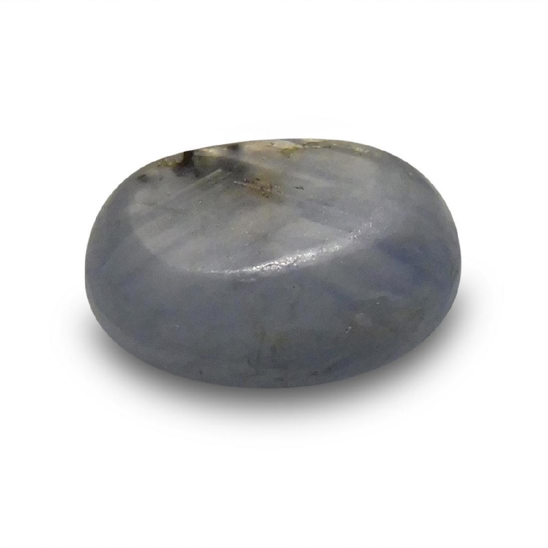 4.05 Carat Loose Oval Star Sapphire - 5