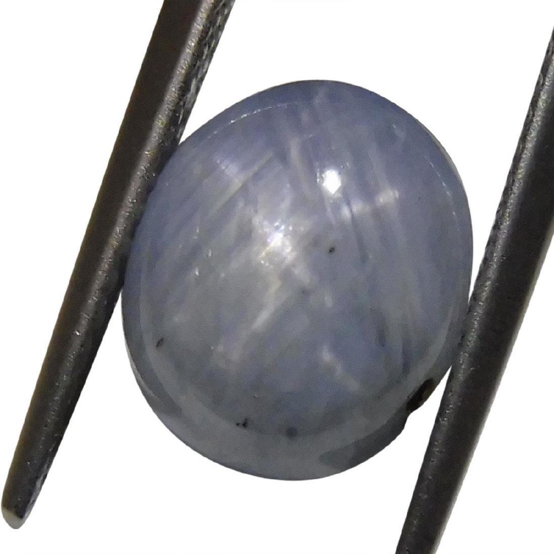 4.05 Carat Loose Oval Star Sapphire - 7