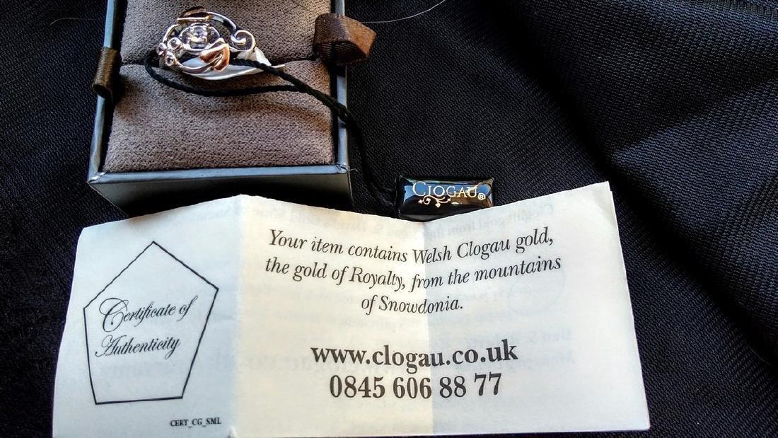 Rare Welsh Clogau Gold Royal Family Ring - 2