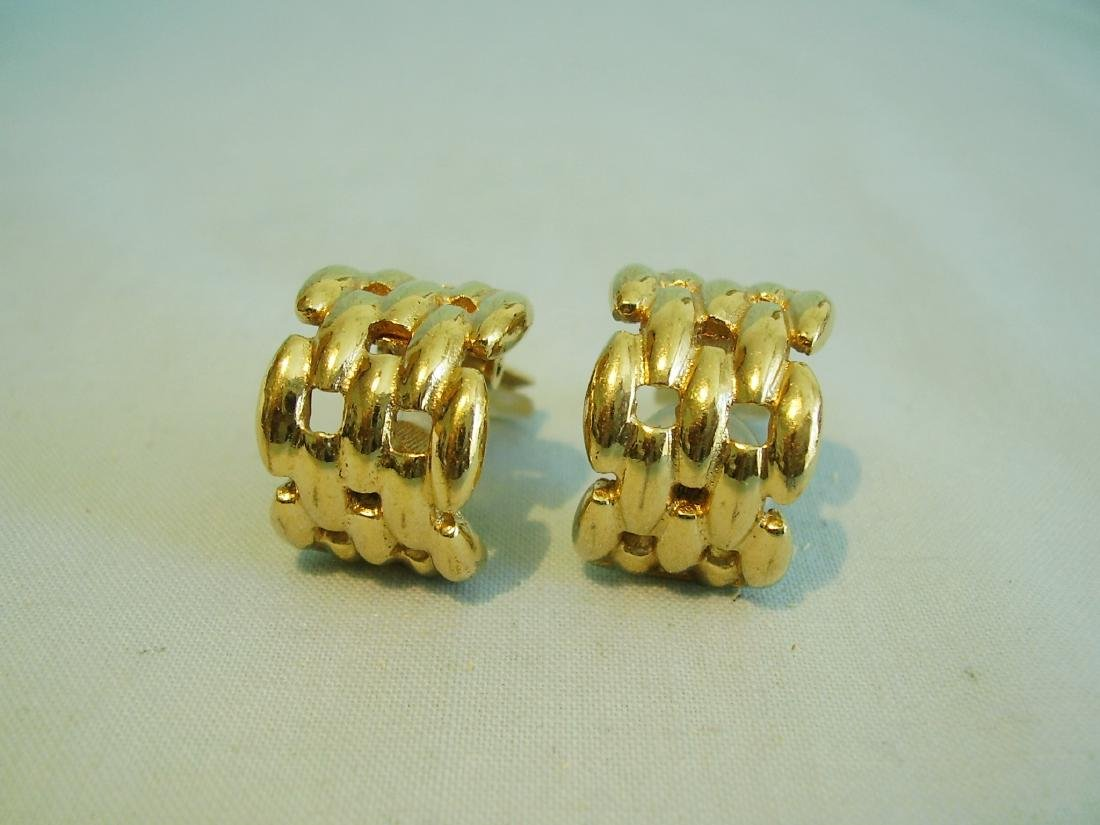 Vintage Christian Dior Earring Clips, 1960