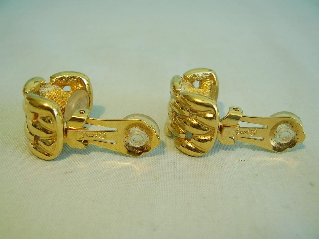 Vintage Christian Dior Earring Clips, 1960 - 2