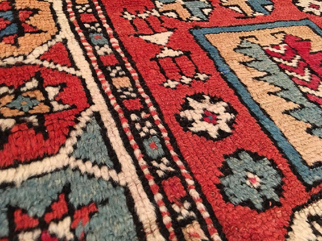 Antique Bergama Rug 6.7x5.3 - 3