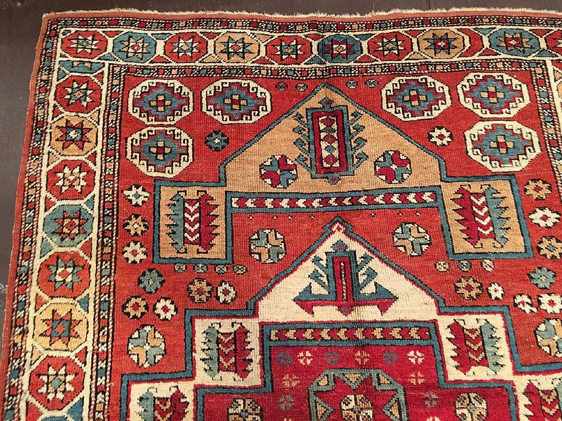 Antique Bergama Rug 6.7x5.3 - 5