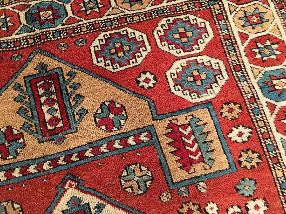 Antique Bergama Rug 6.7x5.3 - 6