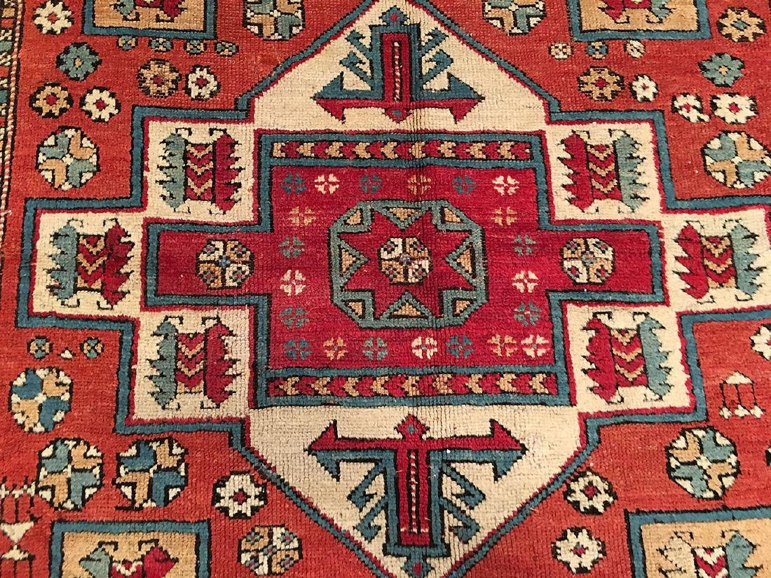 Antique Bergama Rug 6.7x5.3 - 7
