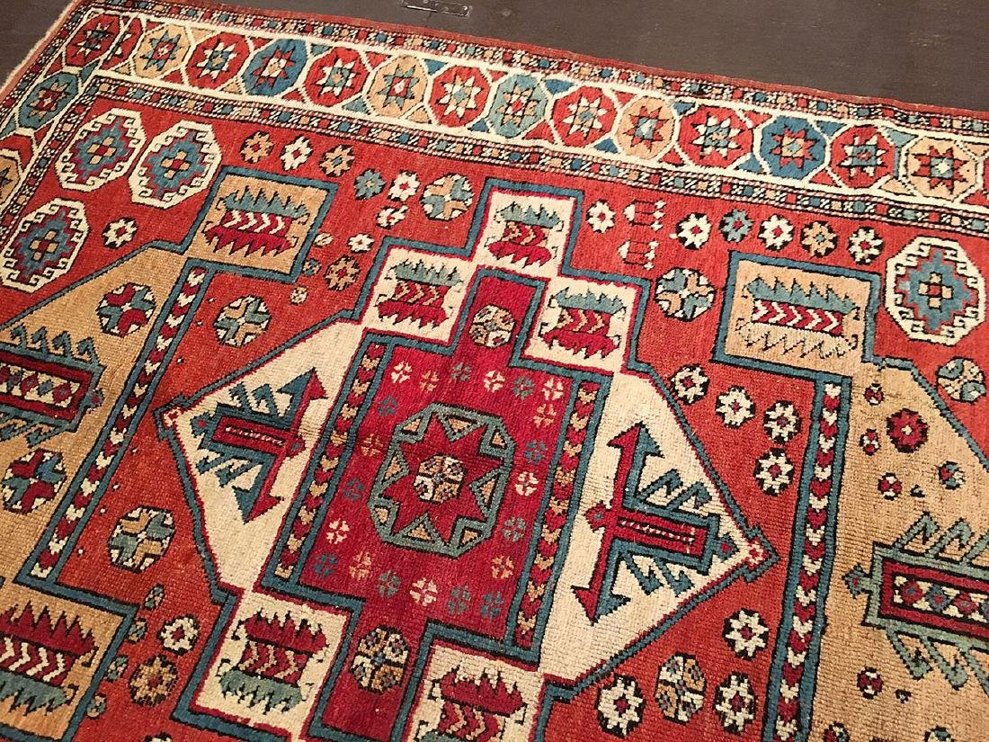 Antique Bergama Rug 6.7x5.3 - 8