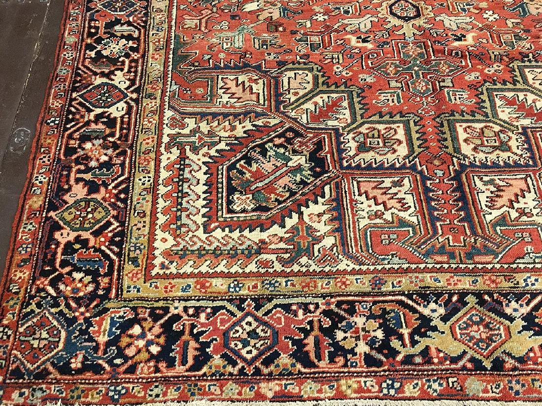 Persian Heriz Carpet 11.3x8.5 - 2