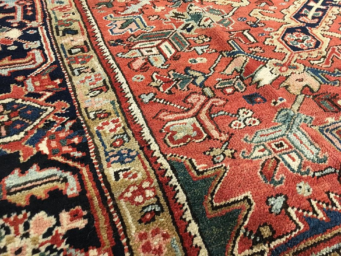 Persian Heriz Carpet 11.3x8.5 - 3