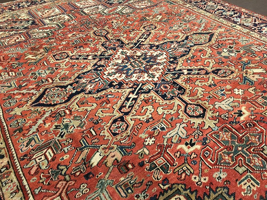 Persian Heriz Carpet 11.3x8.5 - 4