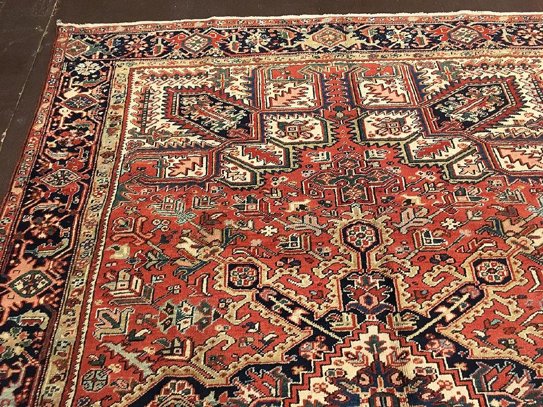 Persian Heriz Carpet 11.3x8.5 - 5