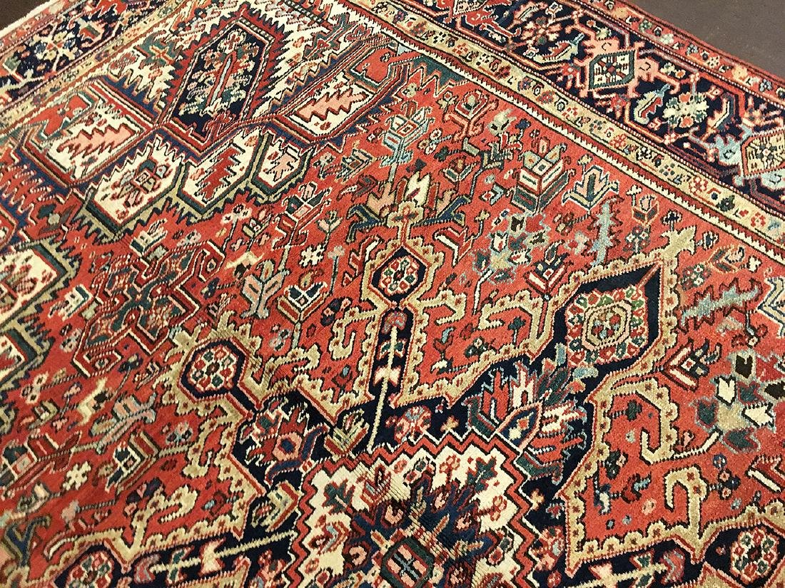 Persian Heriz Carpet 11.3x8.5 - 6