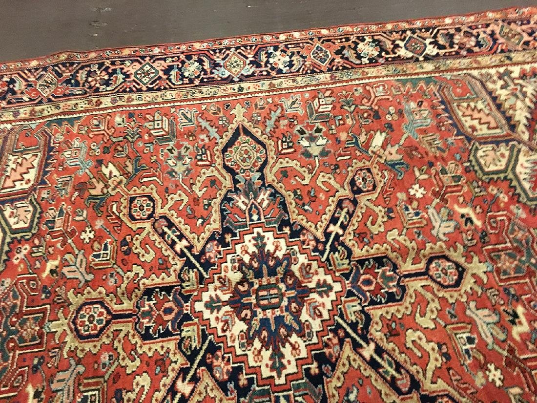 Persian Heriz Carpet 11.3x8.5 - 7