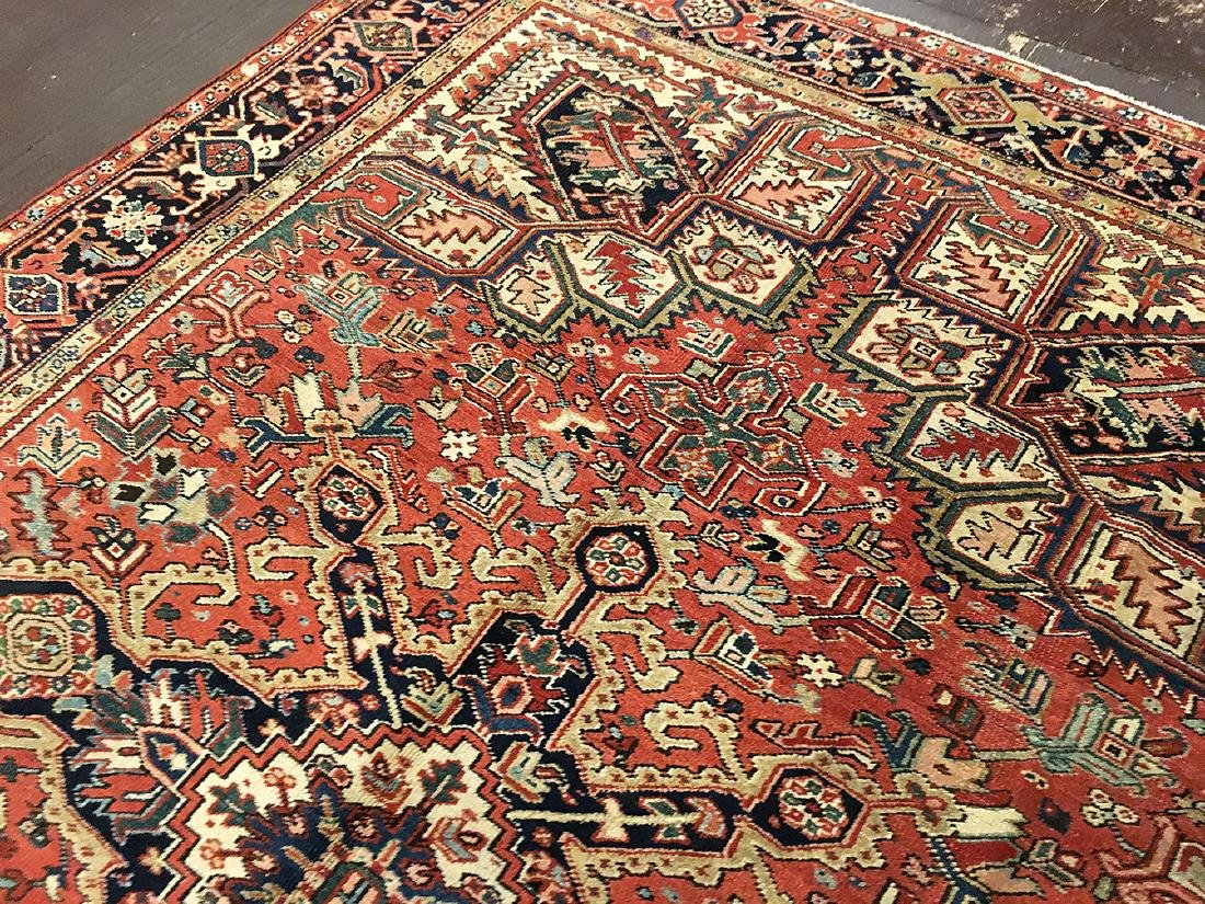 Persian Heriz Carpet 11.3x8.5 - 8