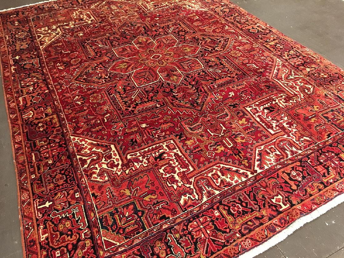 Persian Heriz Carpet 11x7.10