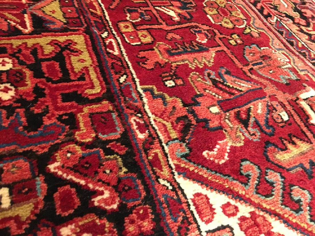 Persian Heriz Carpet 11x7.10 - 3