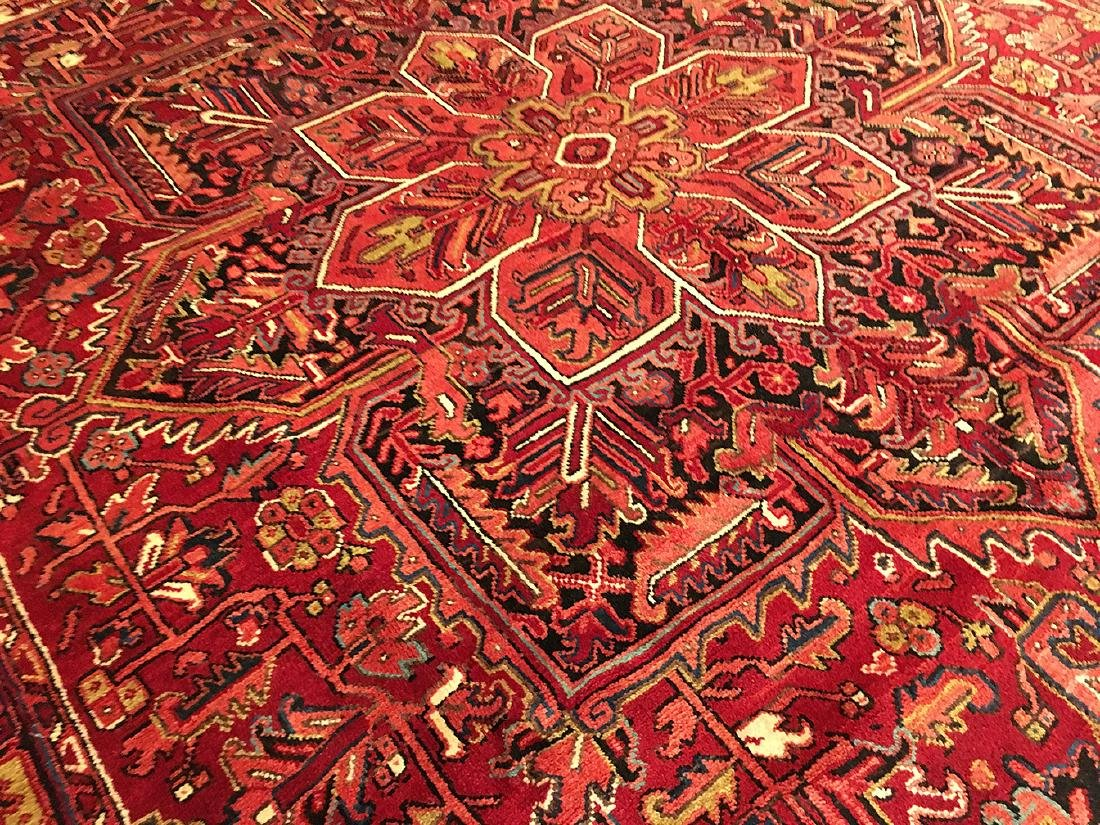Persian Heriz Carpet 11x7.10 - 4