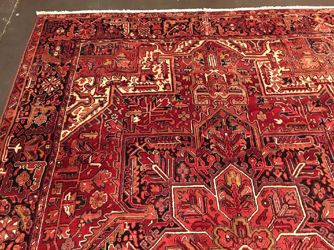 Persian Heriz Carpet 11x7.10 - 5