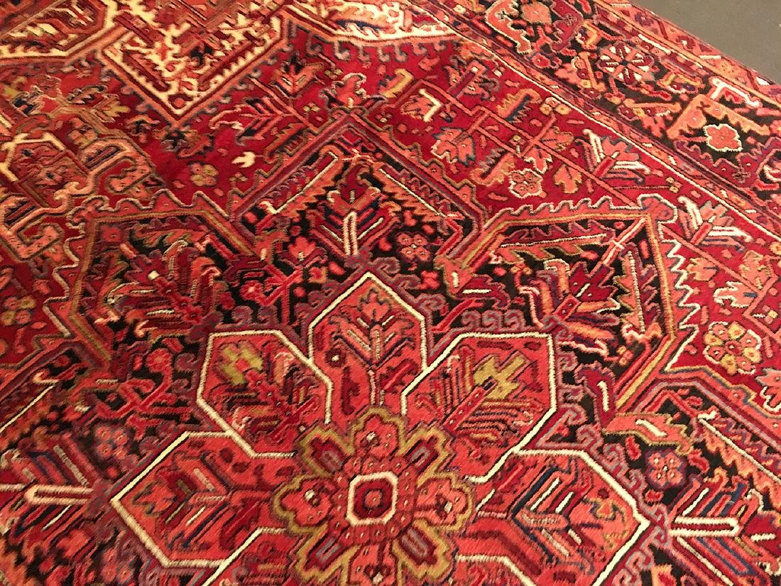 Persian Heriz Carpet 11x7.10 - 6