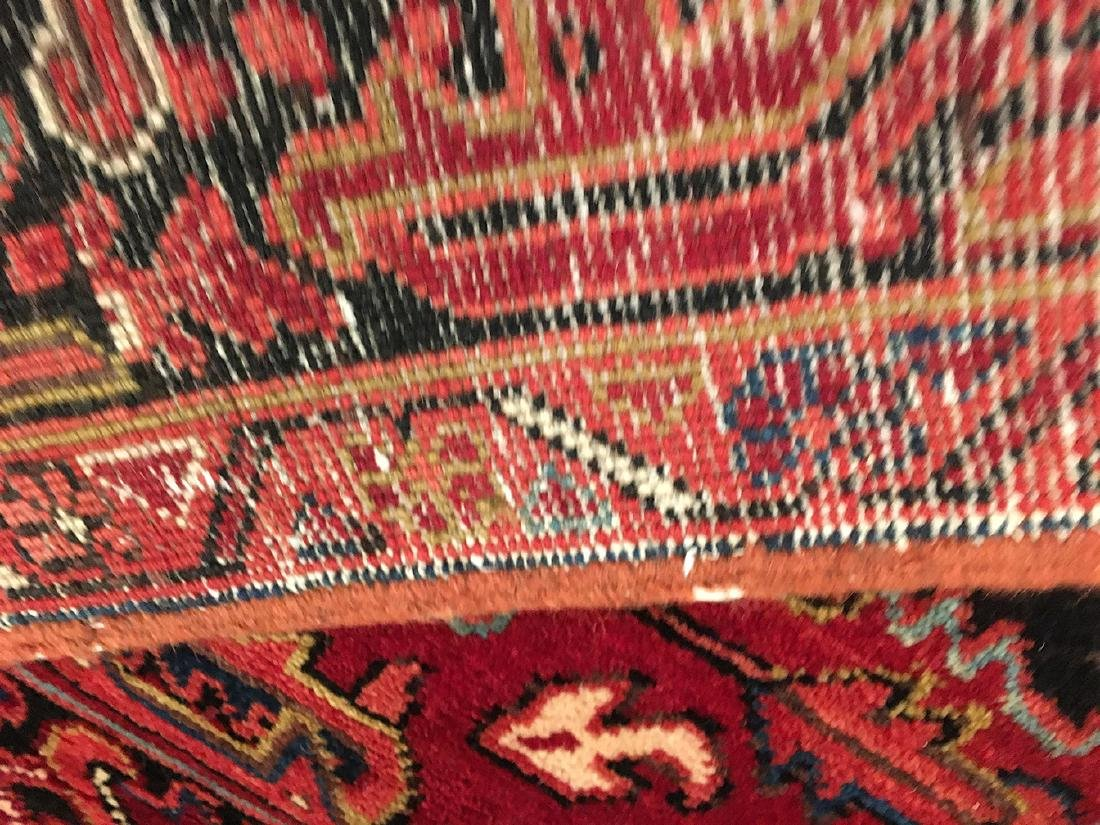 Persian Heriz Carpet 11x7.10 - 8