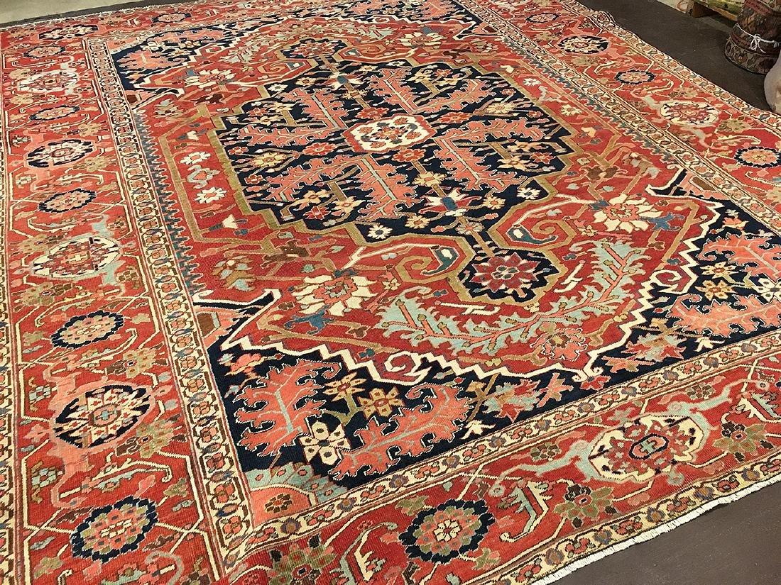 Persian Heriz Carpet 11.6x9.7
