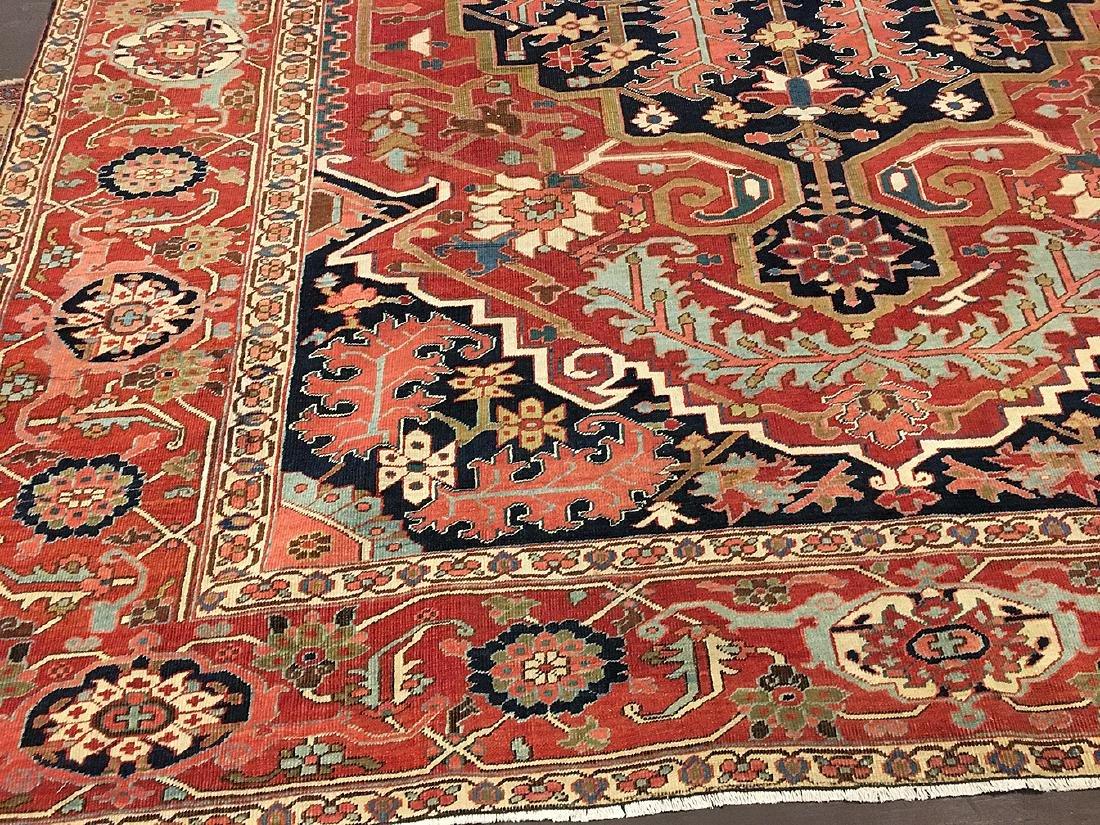 Persian Heriz Carpet 11.6x9.7 - 2