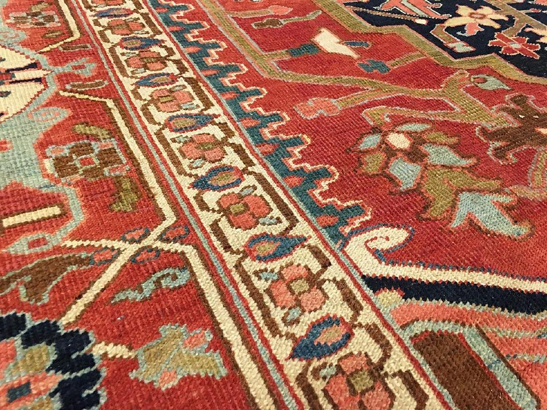Persian Heriz Carpet 11.6x9.7 - 3