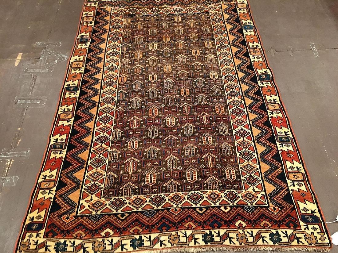 Persian Kurdish Rug 6.4x4.3