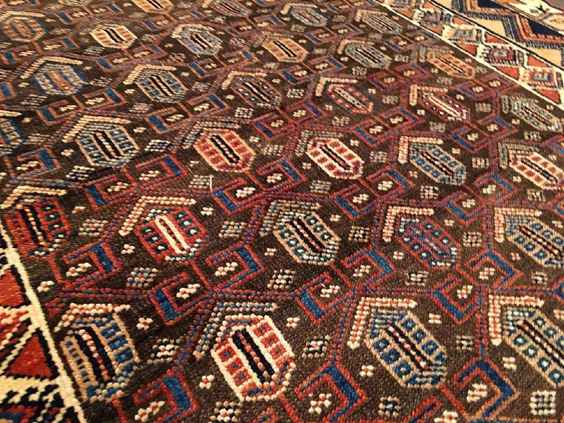 Persian Kurdish Rug 6.4x4.3 - 4
