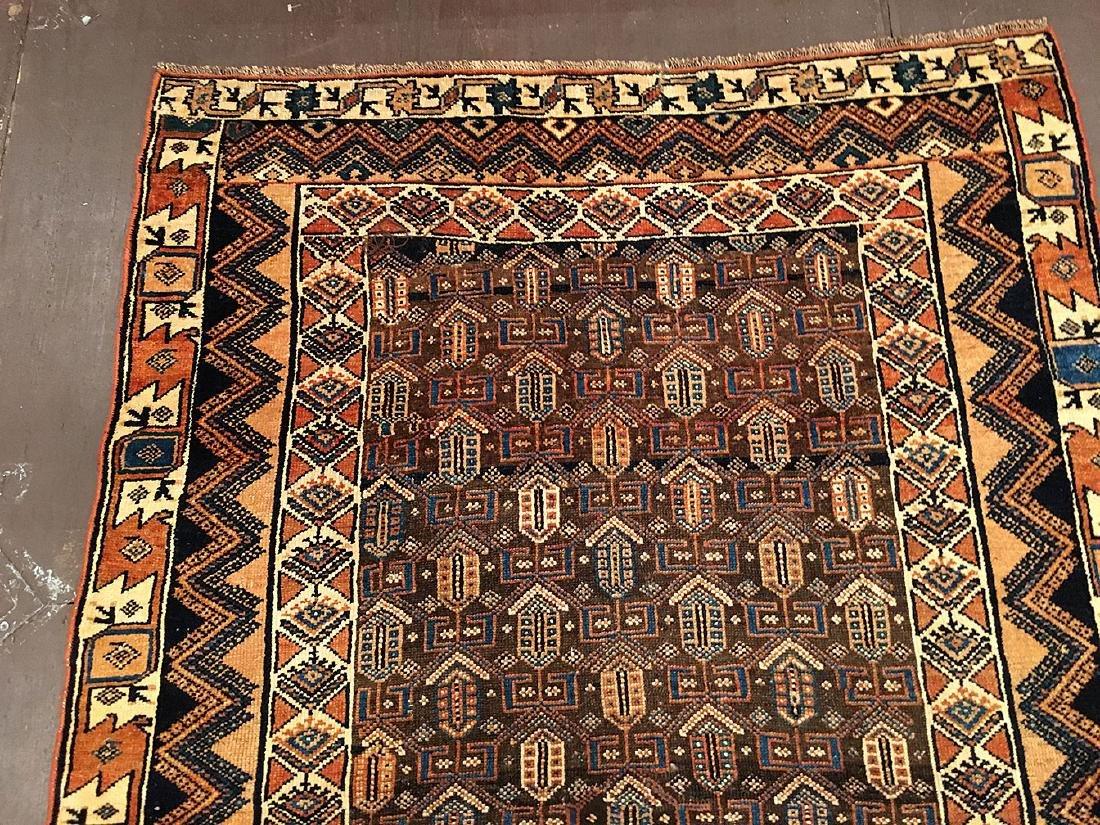 Persian Kurdish Rug 6.4x4.3 - 5
