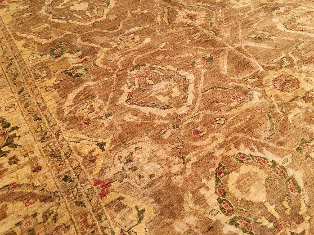 Afghani Pishawar Carpet 11.7x8.7 - 4
