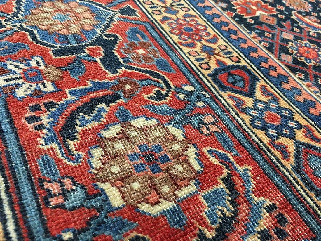 Persian Tabriz Carpet 10.11x7.11 - 3