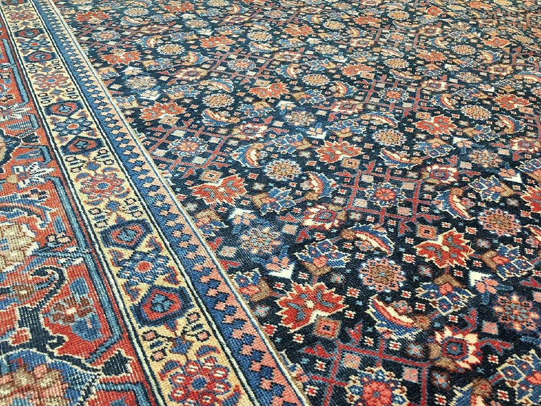 Persian Tabriz Carpet 10.11x7.11 - 4