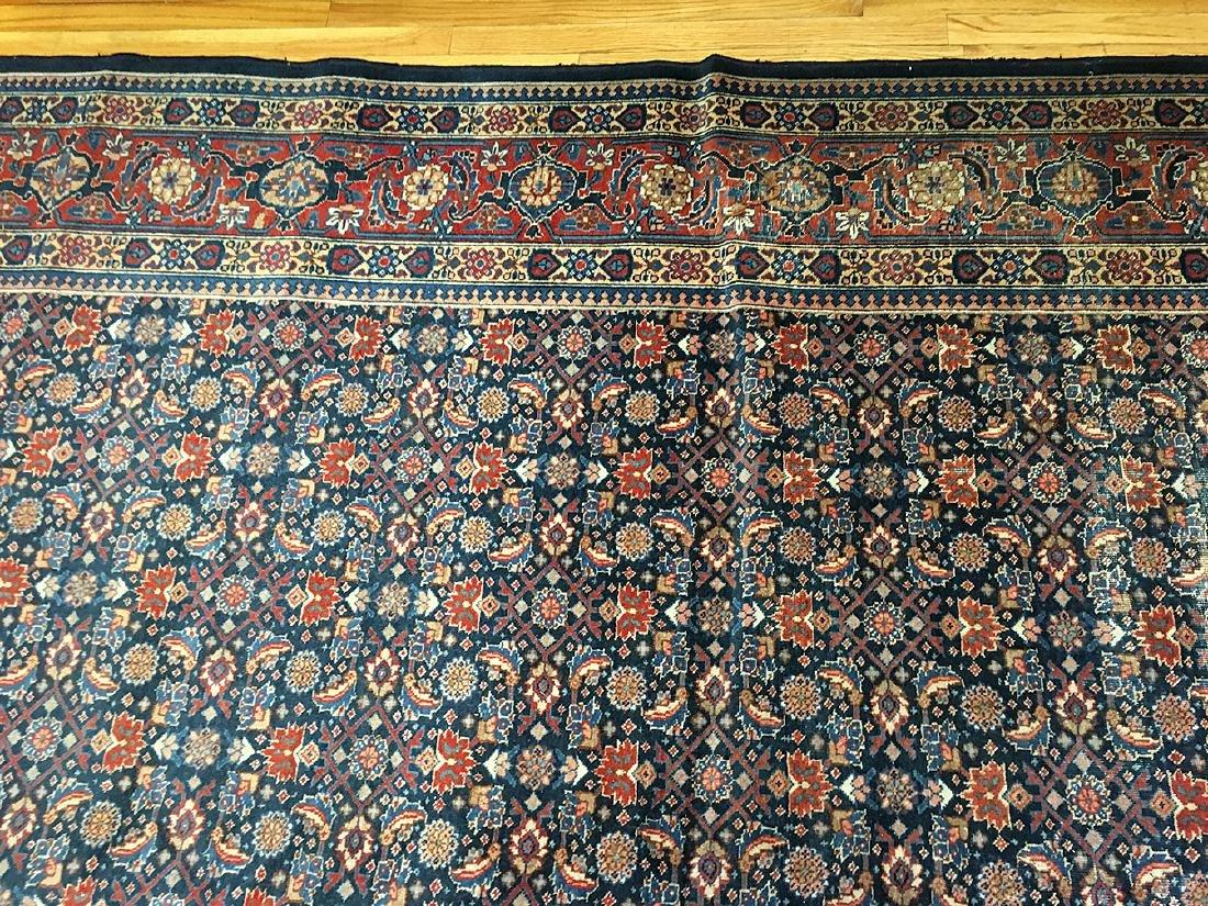 Persian Tabriz Carpet 10.11x7.11 - 7
