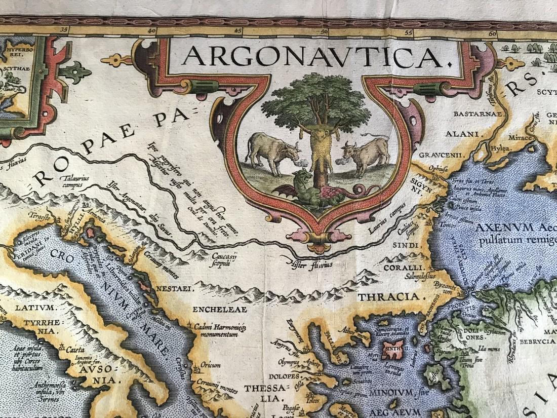 Ortelius Antique Map: Argonautica - 2