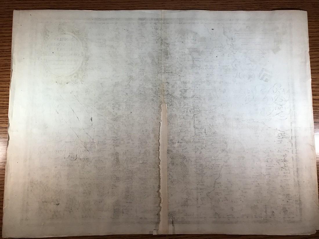 Ortelius Antique Map: Noblis Hannoniae Comitatus - 3