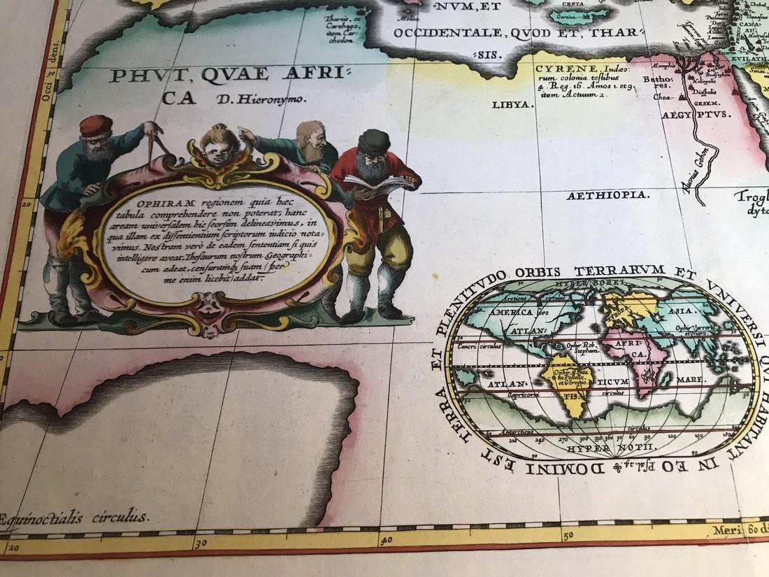 Ortelius Antique Map: Geographia Sacra - 3