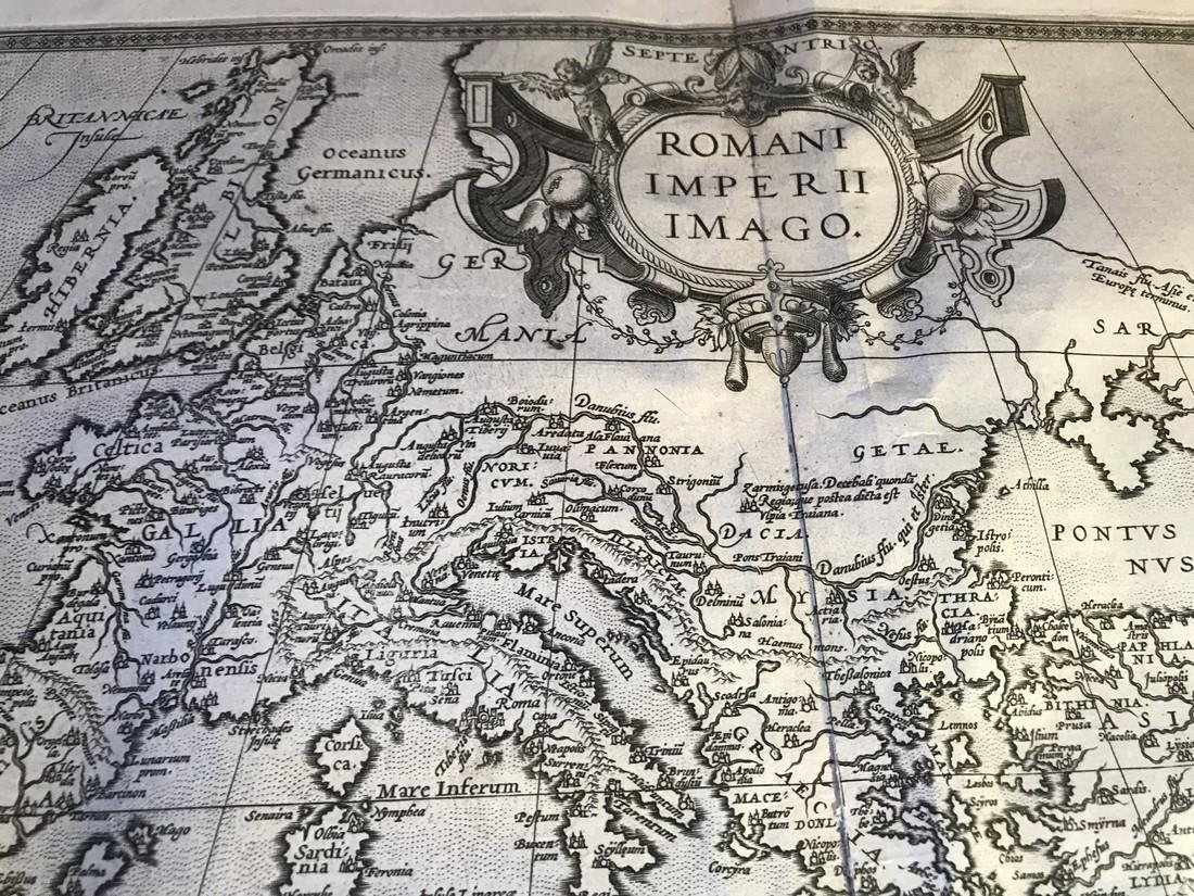Ortelius Antique Map: Romani Imperii Imago - 2