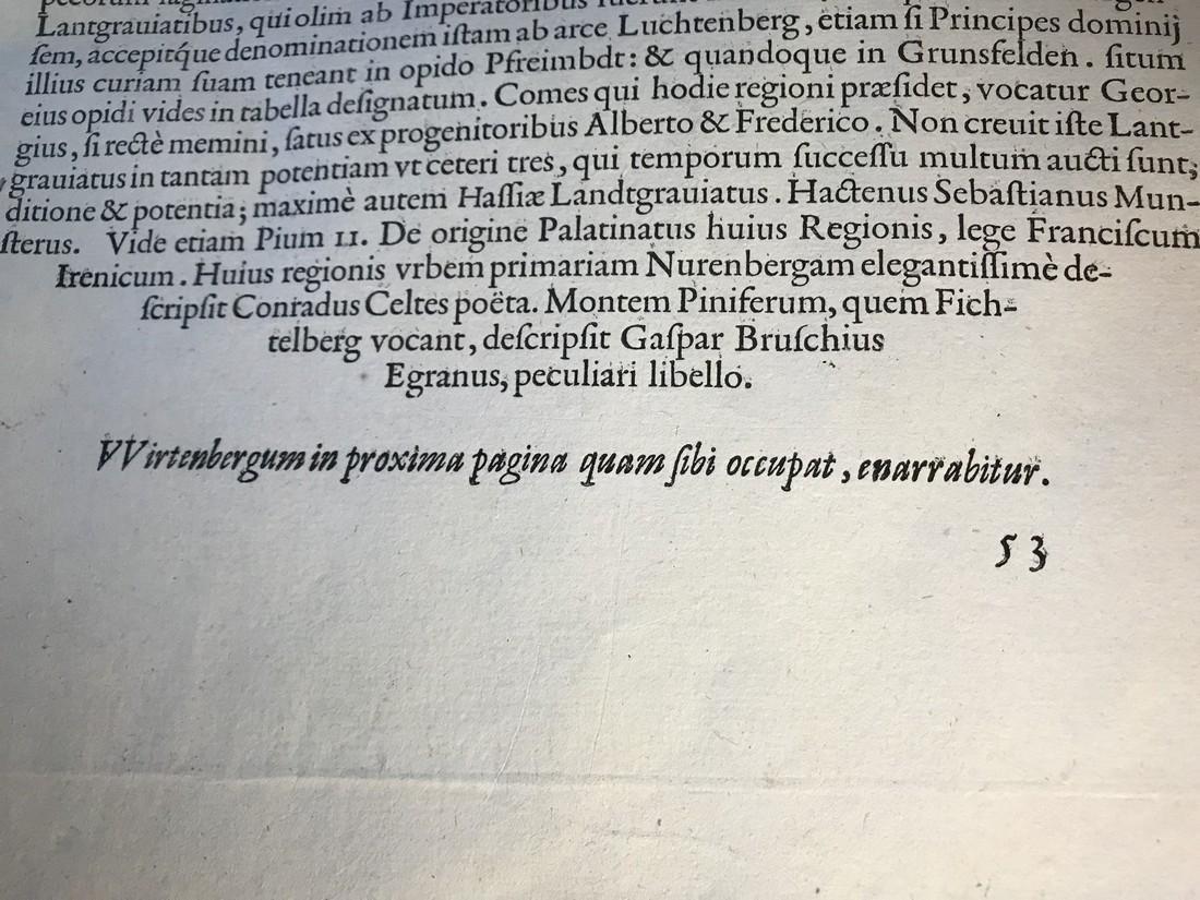 Ortelius Antique Map: Palatinatus Bavariae, - 6