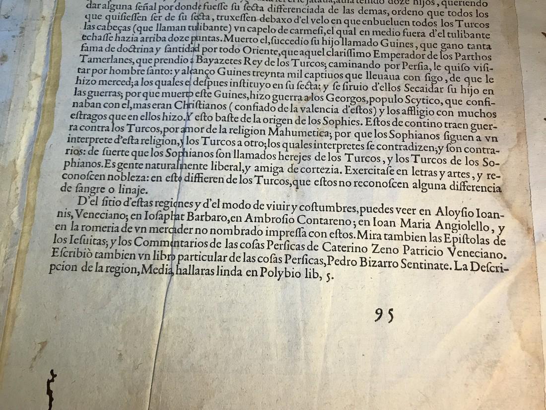 Ortelius Antique Map: Persici Sive Sophorum Regni Typus - 5