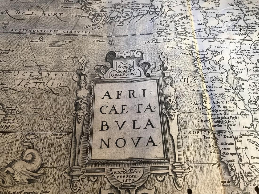 Ortelius Antique Map: Africae Tabula Nova - 2