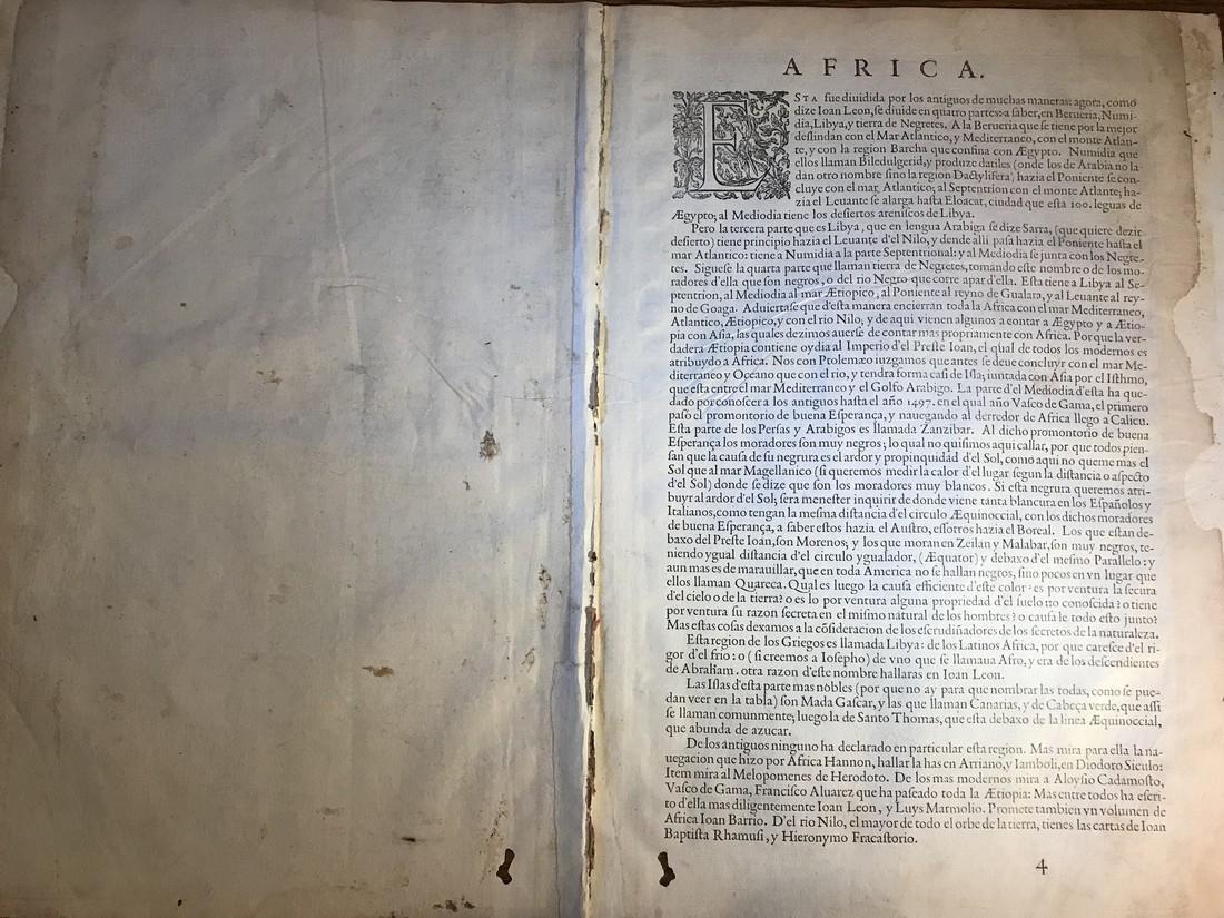 Ortelius Antique Map: Africae Tabula Nova - 3
