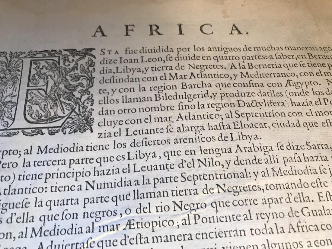 Ortelius Antique Map: Africae Tabula Nova - 4