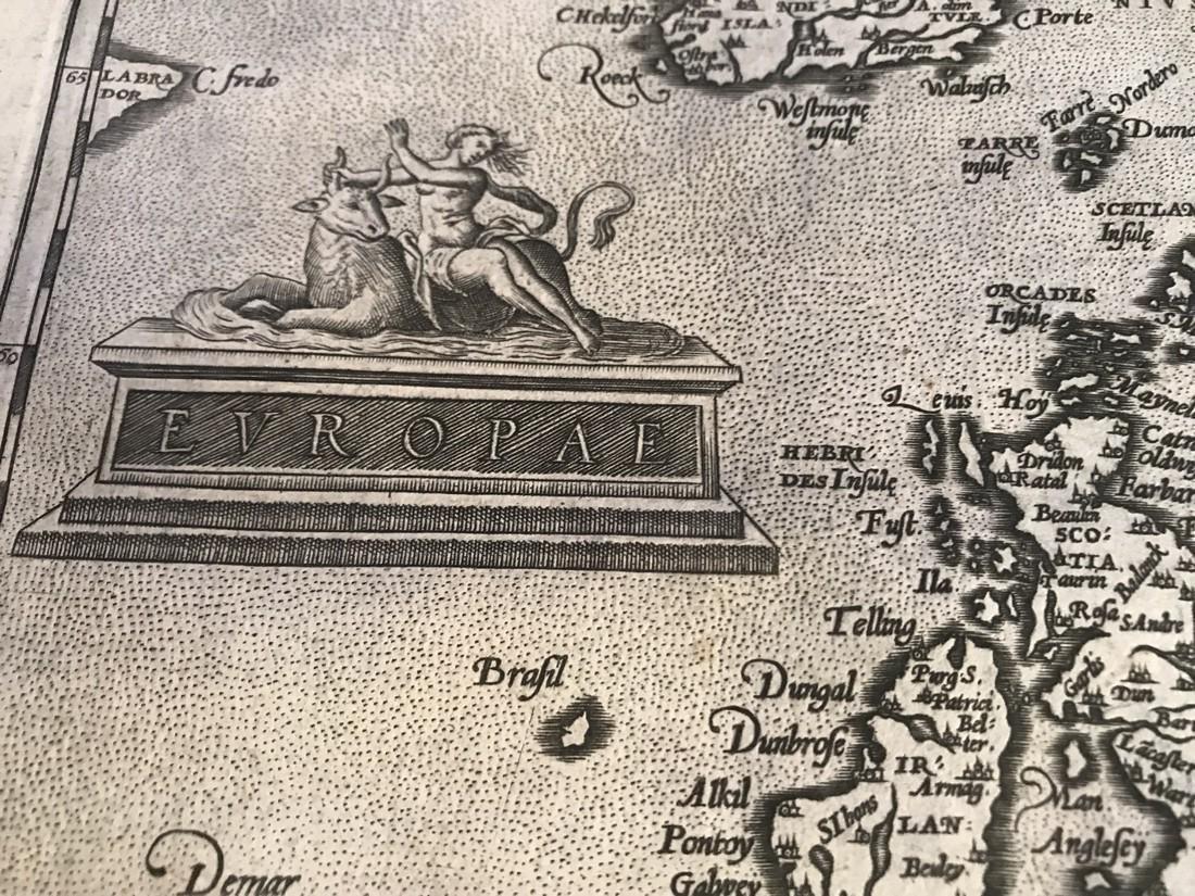 Ortelius Antique Map: Europae - 2