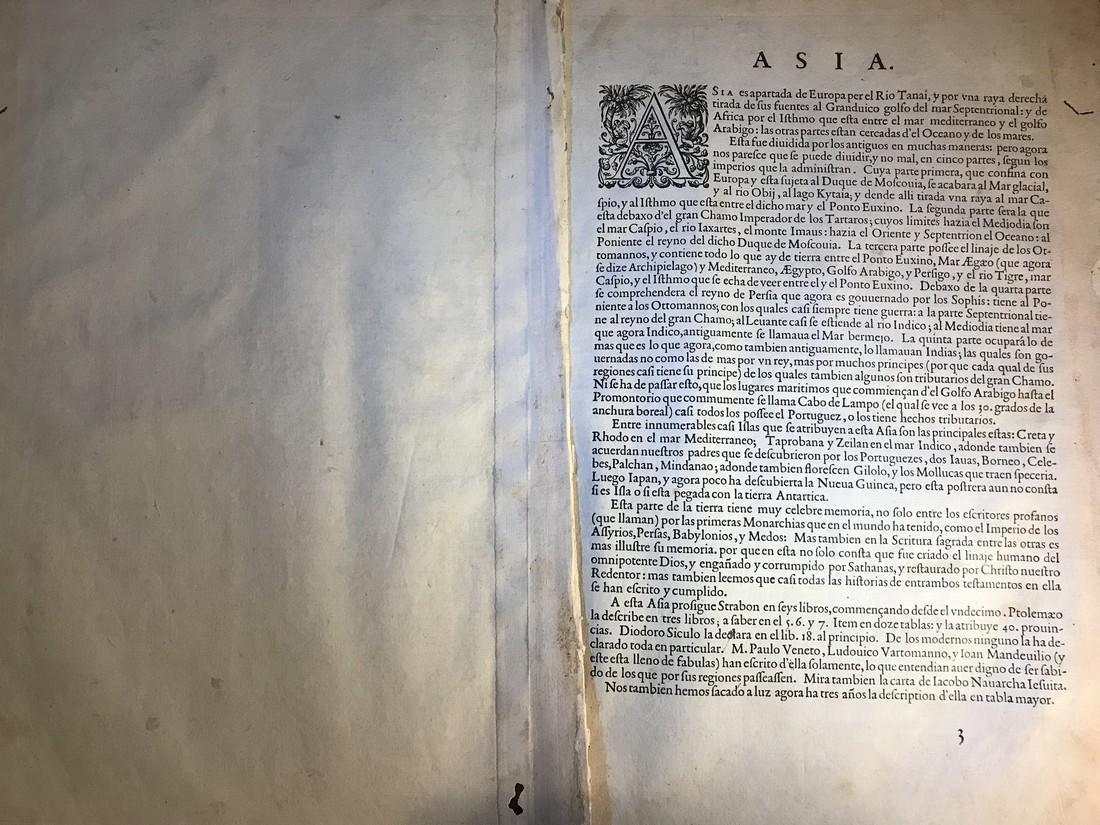 Ortelius Antique Map: Asiae Nova Descriptio - 3