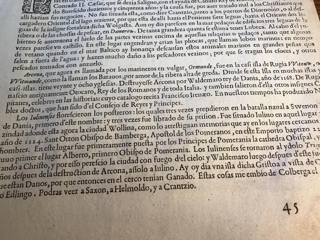 Ortelius Antique Map: Thietmarsiae Holsaticae Regionis - 6