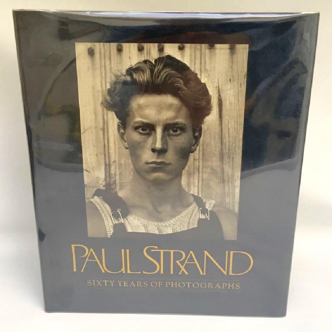 Paul Strand 60 Years Photographs Tomkins First Edition