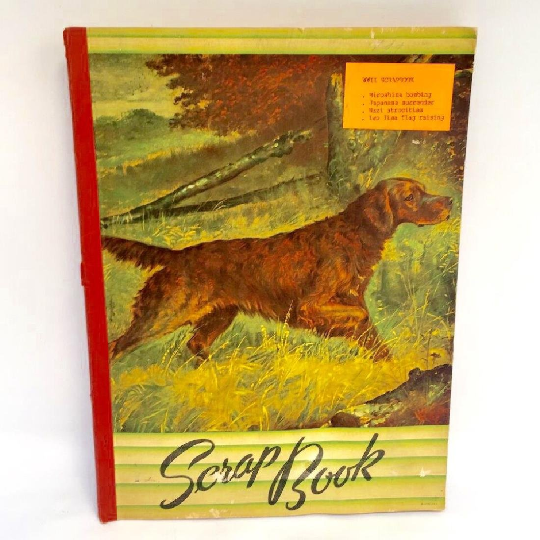 World War II Scrapbook Unknown