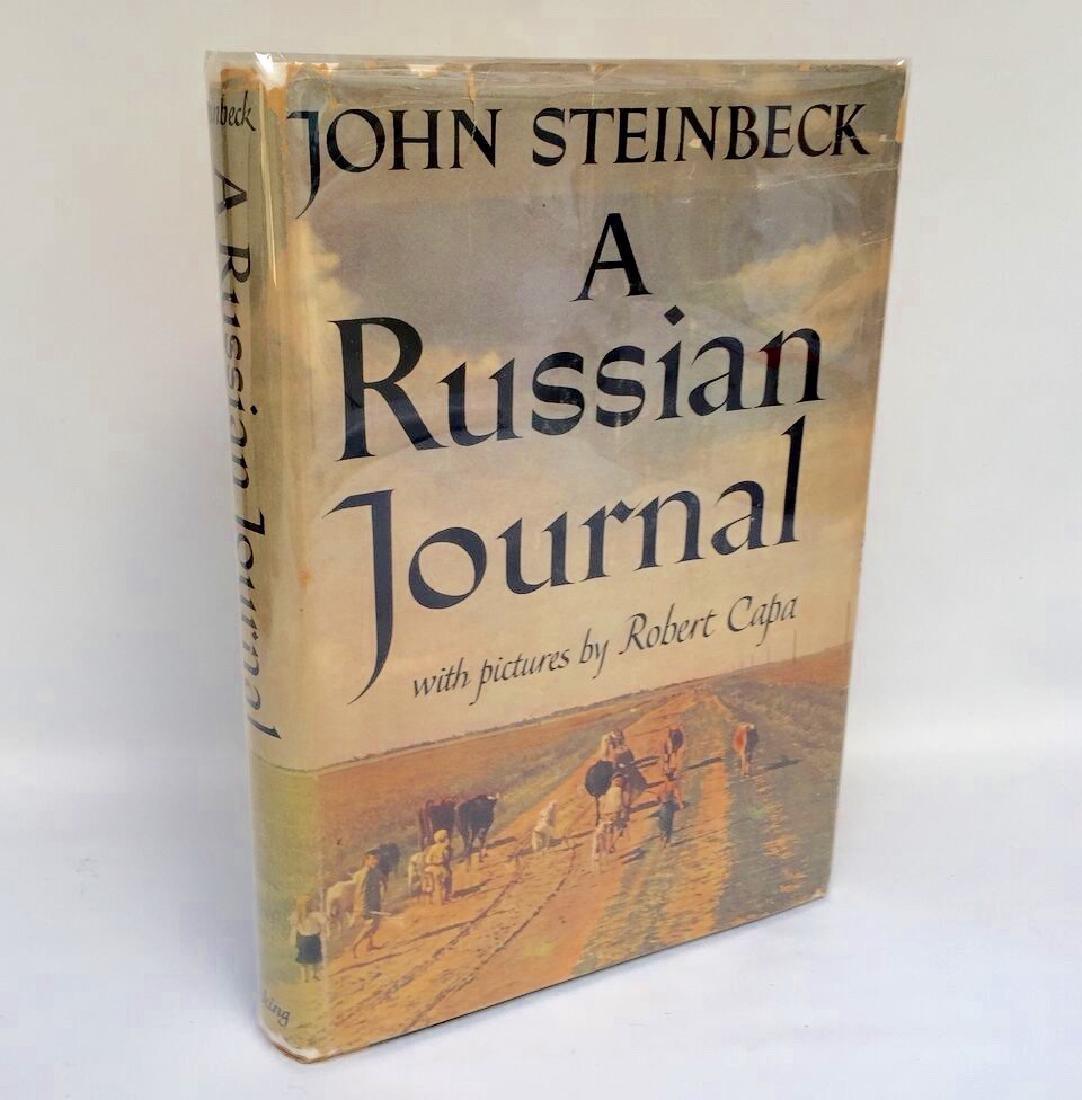 A Russian Journal John Steinbeck First Edition