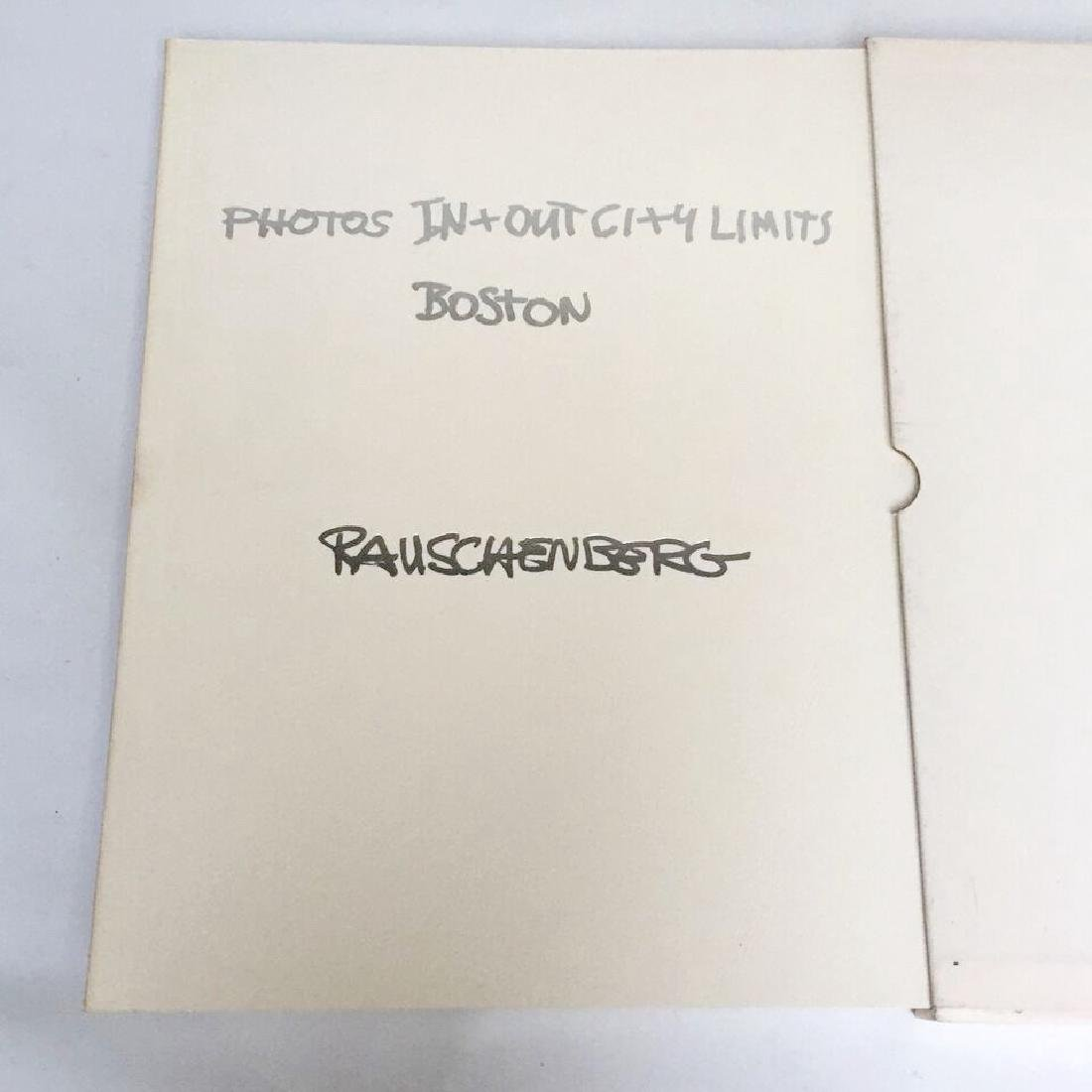 Photos In + Out City Limits Rauschenberg First Edition